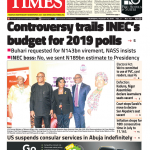 Daily Times Newspaper, Thursday, August 16, 2018
