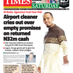 Daily Times Newspaper, Saturday, August 18, 2018