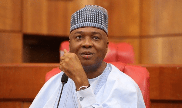 Saraki: Nigerians watching how Buhari'll handle allegations against Oshiomhole