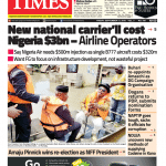 Daily Times Newspaper, Friday, September 21, 2018