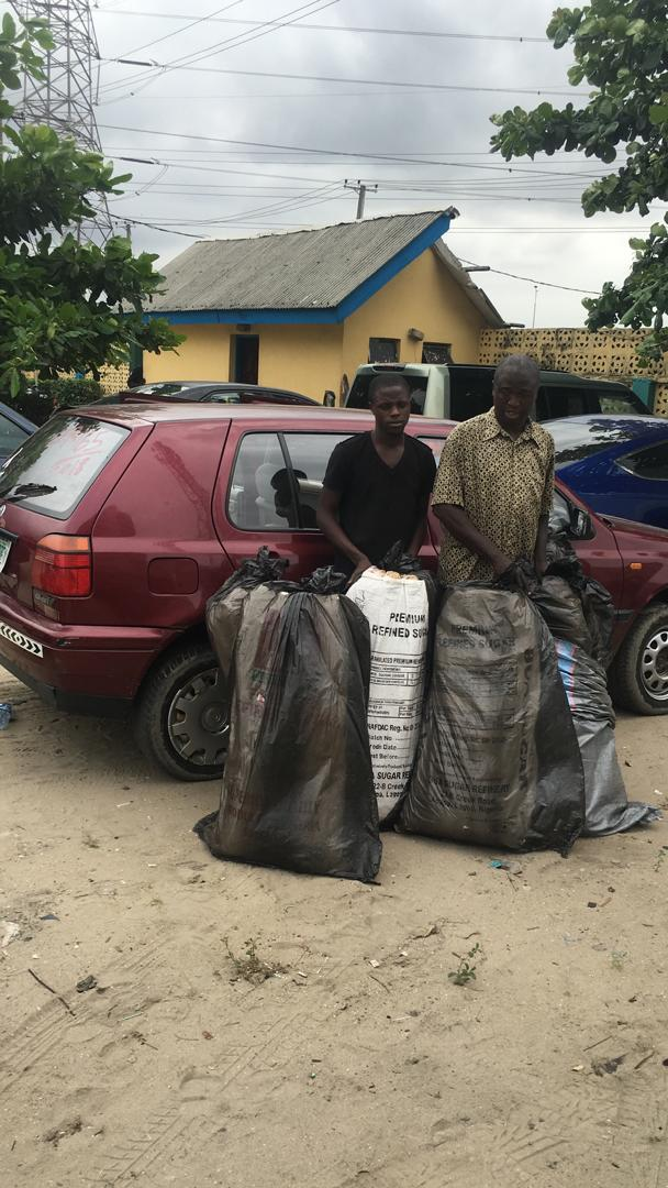 Police arrest two, recover bags of indian hemp
