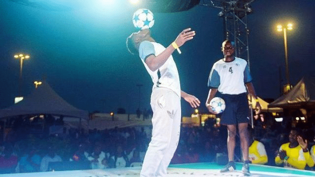 African freestyle soccer tournament debuts in Nigeria
