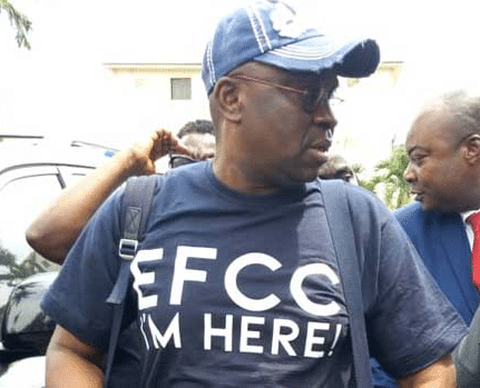 Fayose spends the night in EFCC detention