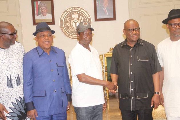 No man's interest is bigger than Rivers, says Wike