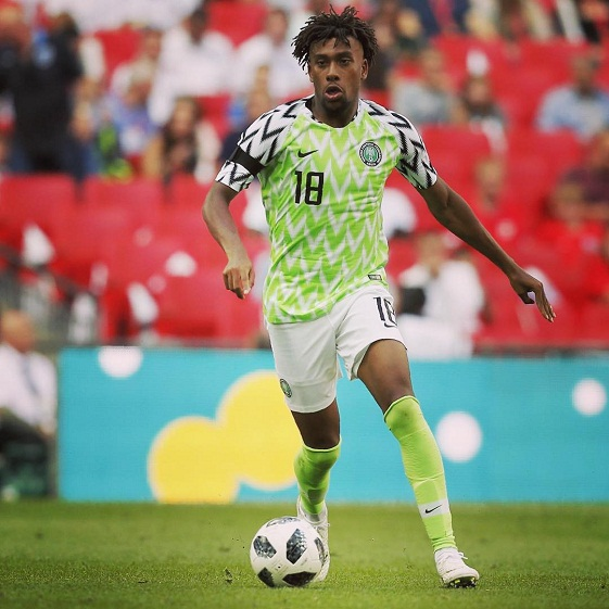 Alex Iwobi: Eagles won't rely on star players against Burundi
