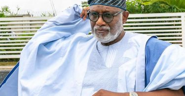 Akeredolu's car gift to all lawmakers not politically motivated — Ondo assembly