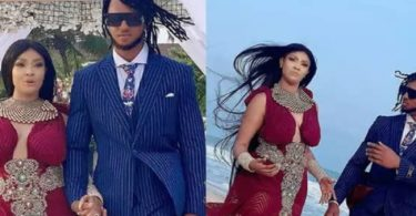 PHOTOS: Actress Angela Okorie weds her fiancé on the beach