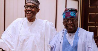 Buhari and Tinubu Daily Times