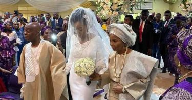 Photos: Bishop Oyedepo's daughter Joys ties knot with heartthrob