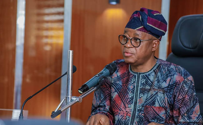 Gov Oyetola Presents 109.8bn Budget for 2021 fiscal year