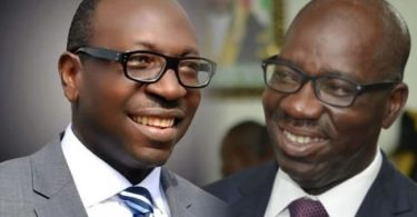 BREAKING: Ize-Iyamu backs out on challenging Obaseki in court