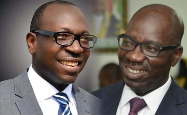 In every family, there's disagreement, return to APC – Ize-Iyamu begs Obaseki