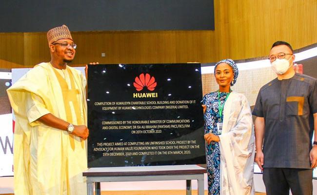 Huawei renovates school, donate IT equipments in Gombe