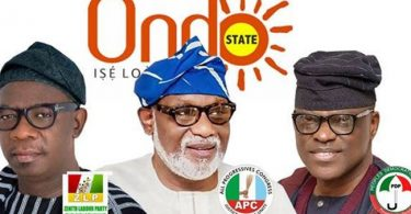 The Ondo governorship poll