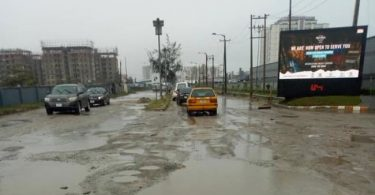 Despite huge tax, Lagosians commute through bad roads (photos/video)