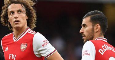 Luiz and Ceballos fight: Arteta plays down Arsenal training ground incident