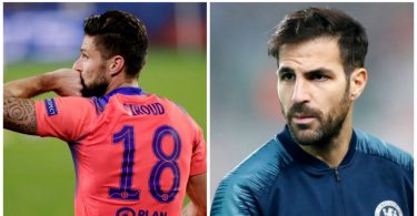 Fabregas sends class message to Olivier Giroud after Chelsea masterclass against Sevilla