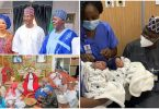 Nasarawa state Governor and new wife welcome a set of twins